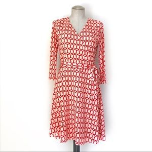 41 Hawthorn Stitch Fix Faux Wrap Dress Size M